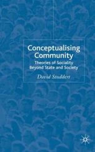 Conceptualising Community
