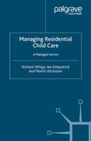 Managing Residential Child Care