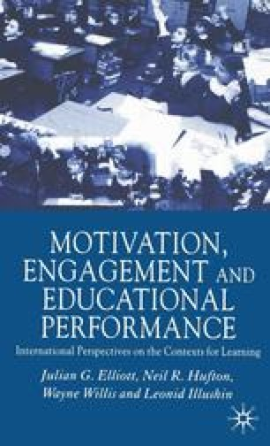 Motivation, Engagement and Educational Performance