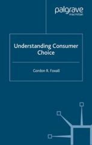 Understanding Consumer Choice