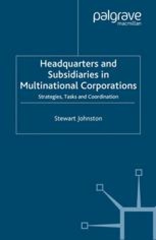 Headquarters and Subsidiaries in Multinational Corporations