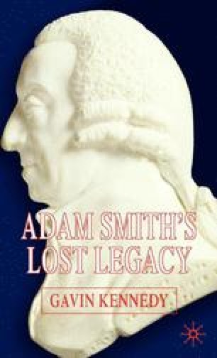 Adam Smith's Lost Legacy