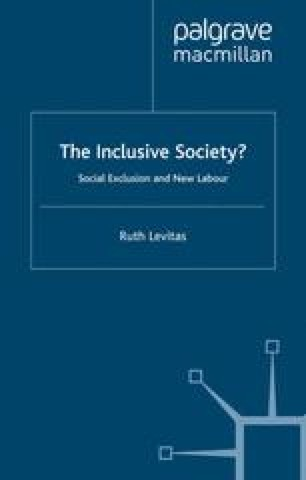 The Inclusive Society?