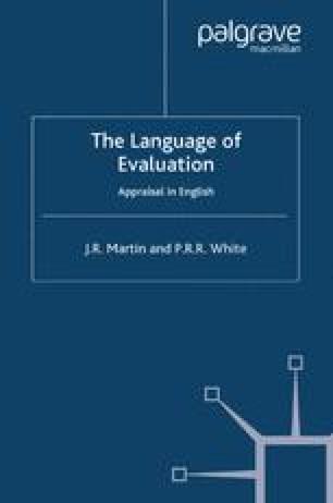 The Language of Evaluation
