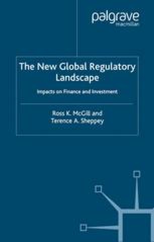 The New Global Regulatory Landscape