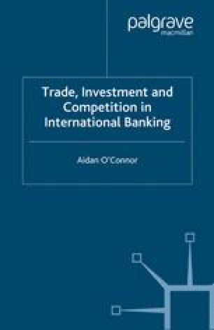Trade, Investment and Competition in International Banking