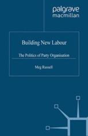 Building New Labour