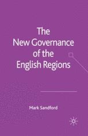 The New Governance of the English Regions