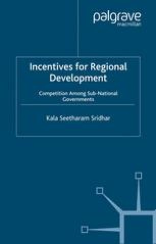 Incentives for Regional Development