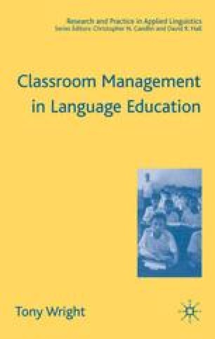 Classroom Management in Language Education