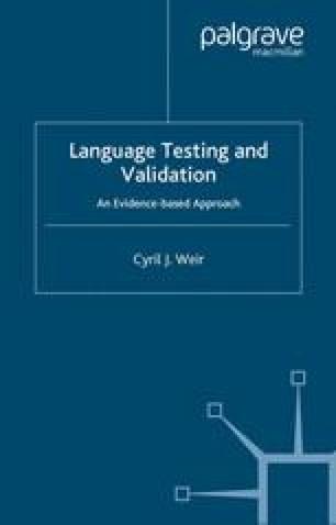 Language Testing and Validation