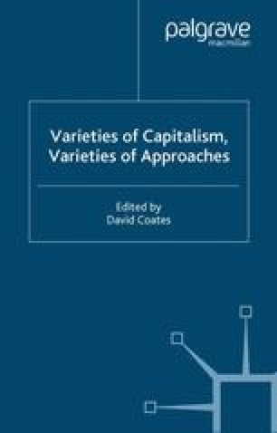 Varieties of Capitalism, Varieties of Approaches