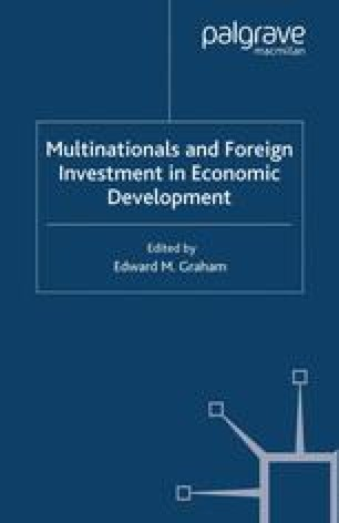 Multinationals and Foreign Investment in Economic Development