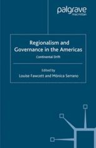 Regionalism and Governance in the Americas