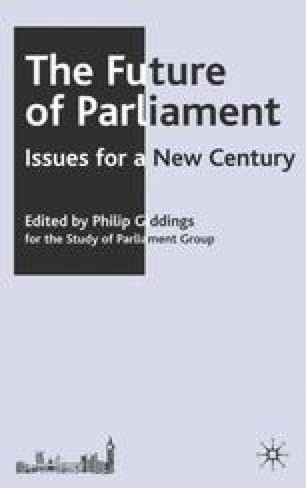 The Future of Parliament
