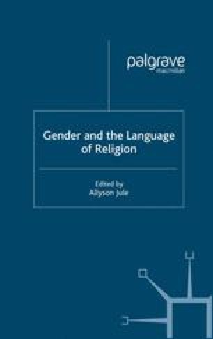 Gender and the Language of Religion