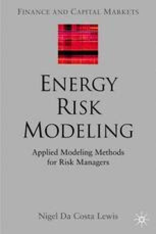 Energy Risk Modeling