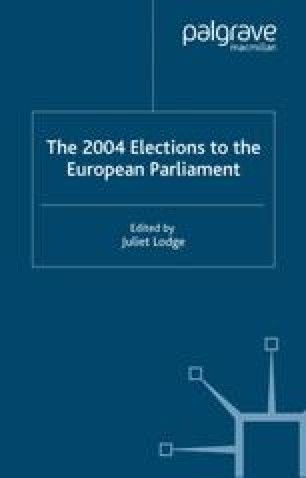 The 2004 Elections to the European Parliament