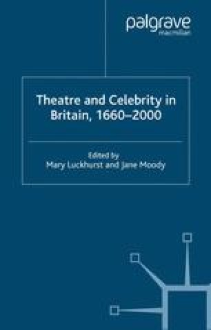 Theatre and Celebrity in Britain, 1660–2000