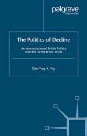The Politics of Decline