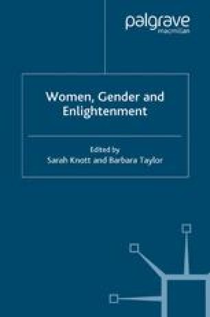 Women, Gender and Enlightenment