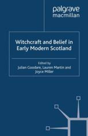 Men in Black: Appearances of the Devil in Early Modern Scottish