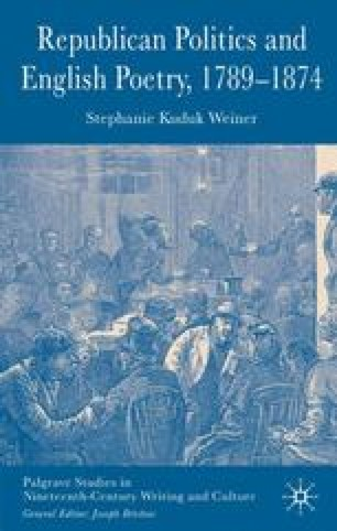 Republican Politics and English Poetry, 1789–1874
