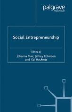 Social Entrepreneurship: How Intentions to Create a Social Venture