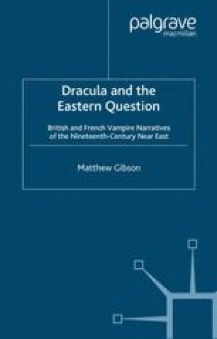 dracula and the eastern question gibson matthew dr