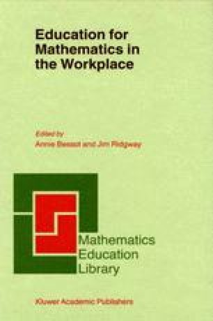 The Transfer of Mathematics Learning From School to Work Not