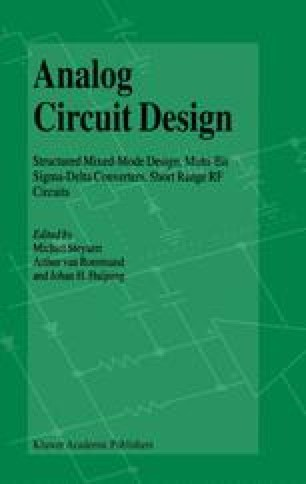 Design of wireless LAN circuits in RF-CMOS | SpringerLink