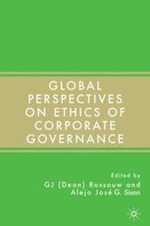 Business Ethics and Corporate Governance in Africa