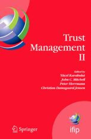 Trust Management II