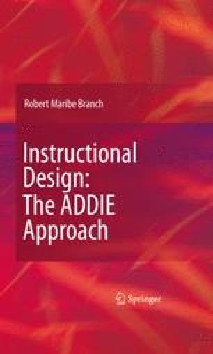 Instructional Design The Addie Approach Springerlink