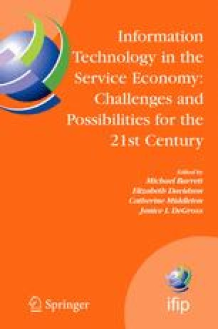 Information Technology in the Service Economy: Challenges and Possibilities for the 21st Century