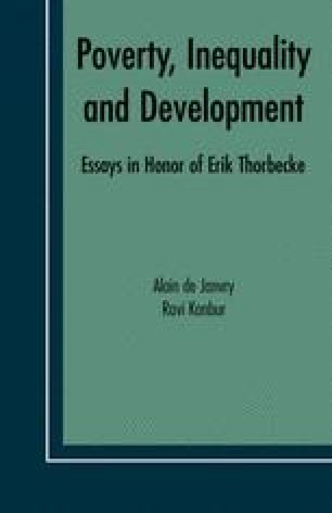 Poverty, Inequality and Development