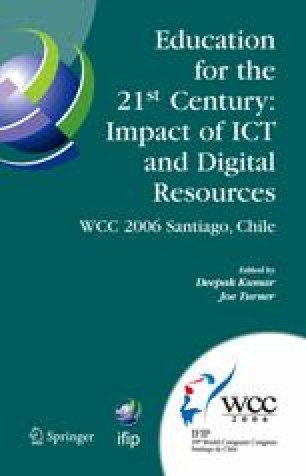 Education for the 21st Century — Impact of ICT and Digital Resources