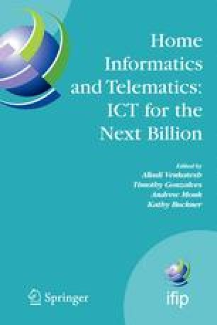 Home Informatics and Telematics: ICT for The Next Billion