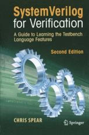 System Verilog for Verification