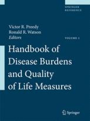 Handbook of Disease Burdens and Quality of Life Measures