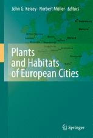 Plants and Habitats of European Cities
