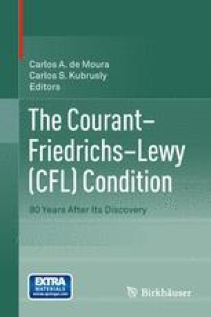The Courant–Friedrichs–Lewy (CFL) Condition