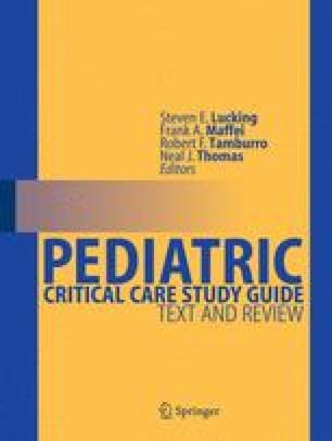 Pediatric Critical Care Study Guide