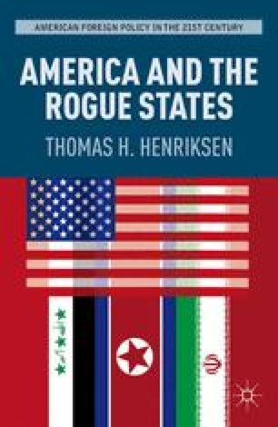 Iraq Quintessential Rogue State Springerlink