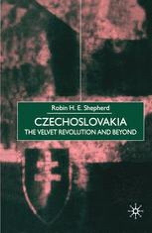 Czechoslovakia: the Velvet Revolution and Beyond