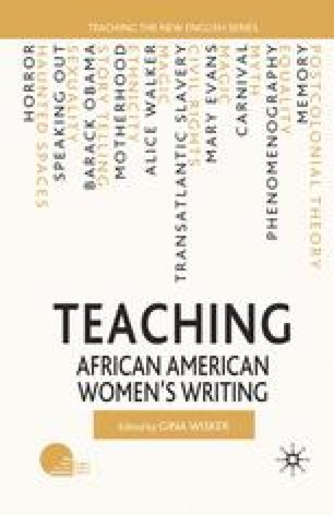 Teaching African American Womens Literature In Australia Reading