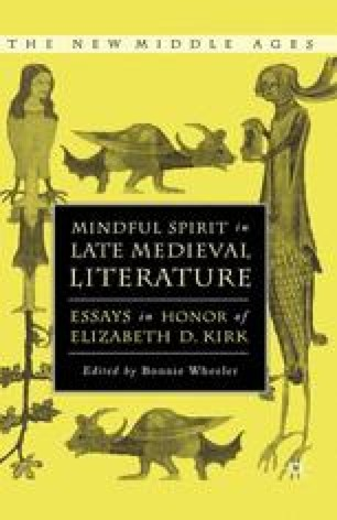 Mindful Spirit in Late Medieval Literature