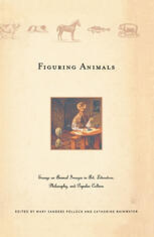 Figuring Animals: Essays on Animal Images in Art, Literature, Philosophy and Popular Culture
