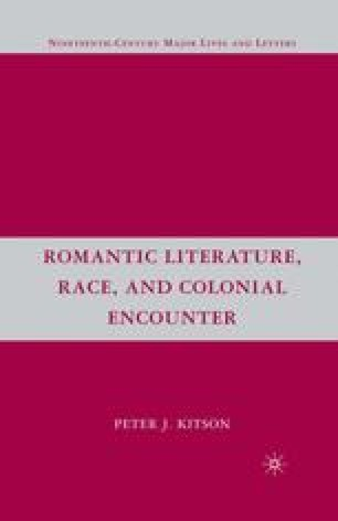 Romantic Literature, Race, and Colonial Encounter