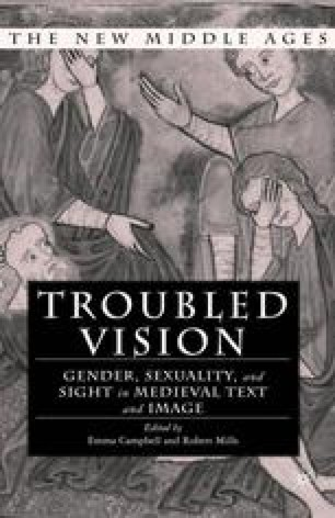 Troubled Vision: Gender, Sexuality, and Sight in Medieval Text and Image